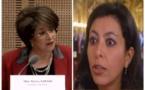 L'empoignade Leila Aichi vs Bariza Khiari, le feuilleton législatif pré-estival 2017