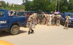 N'Djamena : Un véhicule de la gendarmerie transportant des détenus se renverse. Alwihda Info/M.M