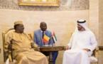 استقبل محمد بن زايد في أبوظبي الرئيس إدريس ديبي