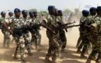 Des soldats tchadiens défilent à Abéché lors de la fête du 11 août 2017. Alwihda Info/D.H.