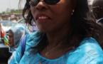 La porte-parole du gouvernement et ministre de la communication, Madeleine Alingué. Alwihda Info/D.W.