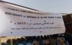 """A Abéché, un vibrant hommage aux enseignants """"qui ont tout donné"""". Alwihda Info/D.H."""