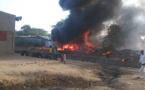 Tchad : incendie dans un garage de réparation de véhicules au 8ème arrondissement