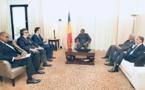 A Paris, Idriss Déby s'active pour enclencher le projet ferroviaire du Tchad