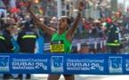 Le triple vainqueur Mirjia et l'ancienne championne du monde Debaba participent au marathon Standard Chartered Dubai