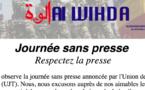 """RSF soutient la """"Journée sans presse"""" au Tchad"""