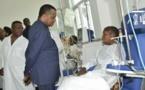 Denis Sassou-N'Guesso : « Progressivement, nous sommes en train d'atteindre les objectifs qui étaient prévus » pour l'hôpital général Edith Lucie Bongo Ondimba
