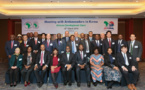 Meeting reception with Ambassador of AfDB member countries.
