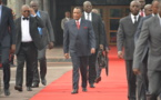 Hommage: Denis Sassou N'Guesso aux obsèques de Winnie Mandela