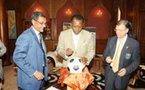 Coupe du Monde : Le ballon pour la lutte contre la poliomyélite, du Tchad à Johannesburg