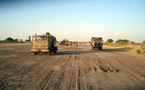 Bahr El Ghazal : Un aéroport de Classe A et la route Massakory-Moussoro en 2012