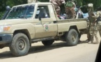 Un véhicule de la force d'appui aux régies financières. Alwihda Info