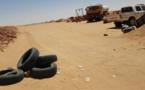 Capture image d'une localité au nord du Tchad ayant fait l'objet d'un pilonnage par l'armée de l'air tchadienne.