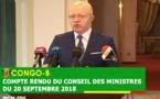 Le ministre Thierry Moungalla, porte-parole du gouvernement
