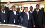 Idriss Déby félicite Paul Biya pour sa réélection