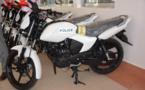 La France offre 20 motos à la police pour renforcer la sécurité de N'Djamena
