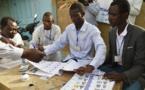 Un bureau de vote de Ndjamena, lors du premier tour de la présidentielle au Tchad, le 10 avril 2016.  © ISSOUF SANOGO / AFP