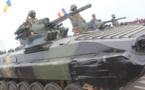 Un véhicule blindé de l'armée tchadienne. © Alwihda Info