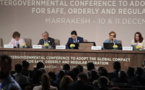 Pacte mondial pour les migrations : le Congo a paraphé le document à Casablanca