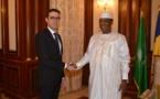 Tchad : un conseiller du président français reçu par Idriss Déby. © PR