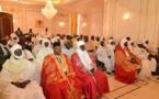 Les chefferies traditionnelles lors d'une réunion à la Présidence du Tchad. © PR