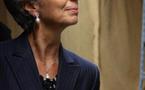 Tchad : Christine Lagarde génée à l'hôtel libyen Kempinski devant la photo de Kadhafi