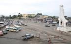 Vue du centre-ville de Libreville au Gabon. © STEVE JORDAN / AFP