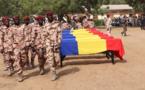 Le Tchad rend hommage à ses soldats tués au Mali