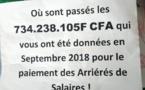 Tchad : d'ex-agents du PNSA et de l'ONDR protestent devant le ministère de l'Agriculture
