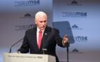 Mike Pence : L'Amérique et l'Alliance atlantique restent fortes