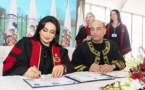 Nashwa Al Ruwaini reçoit un doctorat honorifique d'Oxford
