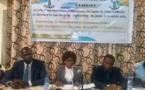 le Camojet présente son mémorandum de la jeunesse, ce jeudi 18 avril 2019 à N'Djamena. © Alwihda Info