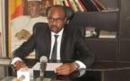 Le ministre de l'Environnement, de l'eau et de la pêche, Sidick Abdelkerim Haggar.