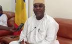 Le ministre de la Santé publique, Aziz Mahamat Saleh. © DR/MSP