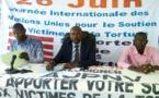 Le président de l'association Jeunesse pour la paix et la non-violence (AJPNV), Nodjigoto Charbonnel, le 26 juin 2019 à N'Djamena. © Alwihda Info