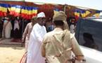 En images : visite du président de la République à Abéché
