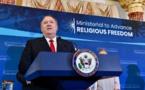 Mike Pompeo remet les premiers Prix de la liberté de religion dans le monde