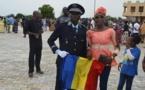 Un policier tchadien distingué par le président du Burkina Faso