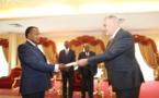 Congo/Diplomatie : lettres de créance de nouveaux ambassadeurs de la France et du Ghana