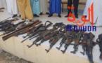 Tchad : des armes de guerre saisies et présentées au ministre de la Justice