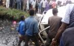 Tchad : un véhicule et ses occupants tombent dans un caniveau après un accident