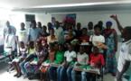Côte d'Ivoire/Mutuelle de la Polyclinique de l'Indénié : 44 Kits scolaires et bons d'achat aux enfants des adhérents