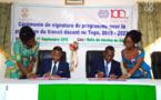 Le gouvernement et l'OIT signent un accord pour promouvoir l'emploi décent au Togo