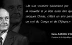 Hommage : Sassou-N'Guesso s'incline devant la mémoire de Jacques Chirac