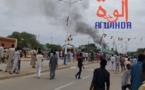 Tchad : la maison d'arrêt d'Abéché en feu après une mutinerie. © Alwihda Info