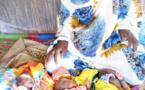 Tchad : une mère accouche de triplés dans un village au Sila
