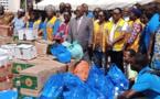 Côte d'Ivoire/Grand-Bassam : Les Lions Clubs de Côte d'Ivoire font don de vivres et non-vivres aux familles sinistrées