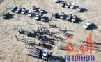 Tchad : 15 addax relâchés dans leur enclos au Wadi Rimé. © Alwihda Info