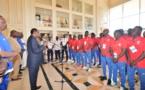 Tchad-Mali : Idriss Déby va suivre le match de foot à la télévision. ©PR