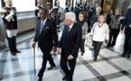 Italie : le président Déby reçu par son homologue Sergio Mattarella. © Quirinale